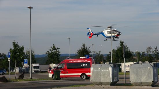 Unfall Brohltal Ost